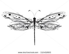 Dragonfly Stock Vector 86038993 : Shutterstock