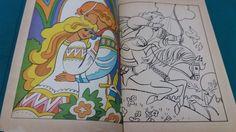 FATA DIN DAFIN ȘI ALTE POVEȘTI* POVEȘTI MINUNATE DE CITIT ȘI DE COLORAT/ 1977 - Carte de povesti - Okazii