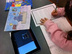 QR codes/writing/and Art Shows Great collaborative program for writing across the curriculum.