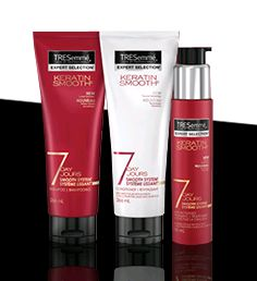 excited to test out these new products from Tresemme that were sent to me from Influenster! #seasonsofsmooth