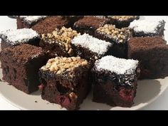 Reteta Negresa de post - un desert delicios si ieftin / Fast And Easy Brownies Recipe - YouTube