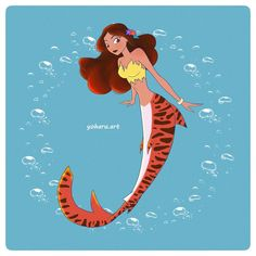 37 Likes, 1 Comments - Adelina Pelmuș Monster Girl, Sirens, Giveaway, Disney Characters, Fictional Characters, Journey, Fan Art, Disney Princess, Mermaids