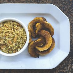 Clean Eating | Quinoa Pilaf + Balsamic Roasted Kabocha Squash