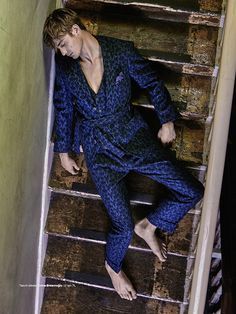 'Uyurgezer' (GQ Turkey), Bejamin Allen shot by Greg Swales and styled by Kaner Kivanc.
