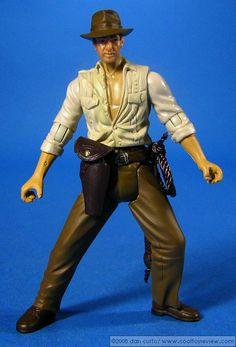 Indiana Jones (Whip-Cracking Action!)  (Series 1   2008   Hidden Relic: Grail Tablet) [Status: Own]