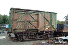 12 ton Palvan, British Railways No.B773149. CLV204, Johnnie Walker No.JW6057