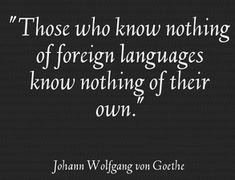 Five Quotes About How Learning A Language Can Change Your ...
