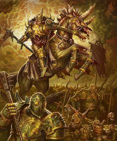 Nurgle army by JohanGrenier