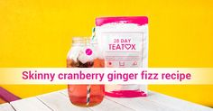 Love fizzy drinks but hate the calories? Try this skinny cranberry ginger fizz recipe! Cranberry Ginger Fizz (makes 1): 1 glass filled with ice cubes 2 oz cranberry juice 3 oz natural ginger ale 1 Tbsp. agave syrup 1 serving of SkinnyFit tea Click through to purchase your essential bag of SkinnyFit tea now! Ginger Fizz, Ginger Ale, Skinny Fit Tea, Juice 3, Tea Blends, Cranberry Juice, Ice Cubes, Tea Recipes, Detox Tea
