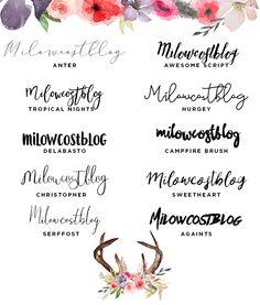 milowcostblog: recursos molongos: tipografías rebonitas y lámina imprimible