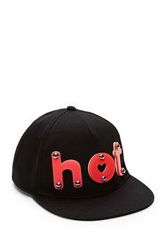 Neon Hot Baseball Hat   FOREVER21 - 2000063829 want!!!