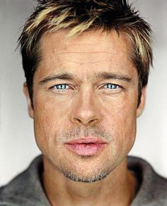 Brad Pitt by Martin Schoeller