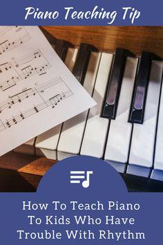 How To Teach Piano To Rhythm-less Robbie | Teach Piano Today