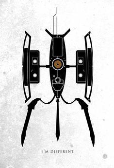 video game movie posters ron guyatt portal im different