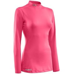 Under Armour Women's Fitted ColdGear Mockneck Shirt - Dick's Sporting Goods