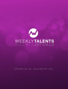 Chosen by us, sourced for you: browse our updated list of talents. More on : http://ampersand-world.com/bw/index.php/fr/clients/weekly-talents.html