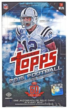 36 packs per box, 10 cards per pack. 1 AUTOGRAPH or Relic per box!. 1 Topps 60th Anniversary buypack per box. 1 Rookie Card per pack