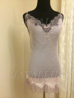 Victoria's Secret Dream Angels  Chantilly Lace SLIP  LIMITED EDITION LARGE #VictoriasSecret #SLIPSCAMIS