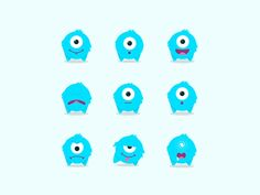 GIF Collection on Behance