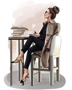 52 Ideas Fashion Sketchbook Ideas Girls For 2019 Trendy Fashion, Girl Fashion, Fashion Beauty, Mode Poster, Mode Chanel, Girly Drawings, Fashion Wall Art, Fashion Prints, Fashion Design Sketches