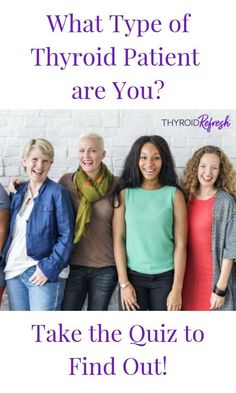 Knowing what sort of thyroid patient you are can help you heal and feel better! Take our quiz to find out and learn what sort of thyroid patient you are. Types Of Thyroid, Thyroid Symptoms, Thyroid Disease, Thyroid Health, Autoimmune Diet, What Type, Feel Better, How To Find Out, Improve Yourself