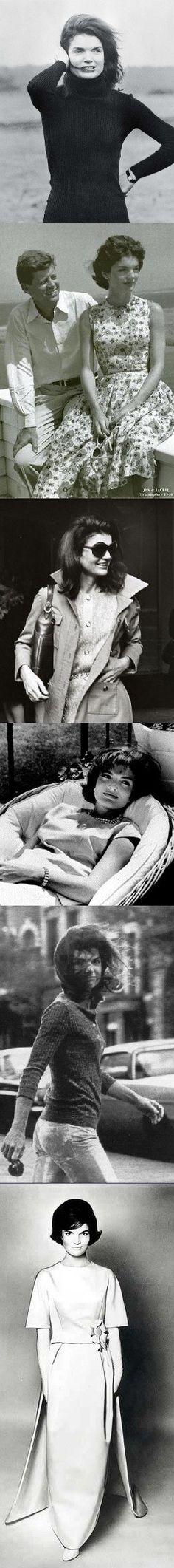 Jackie Kennedy Onassis, timeless fashion <3