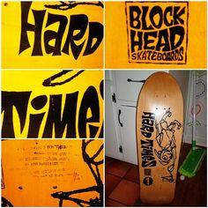 Blockhead | Hard Times  #roncameron #blockhead @blockhead_dave @grayslide #sk8face