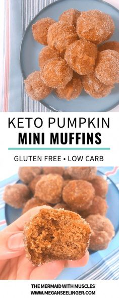 These easy Keto pumpkin spice almond flour muffin minis are an easy meal prep low carb breakfast option or a sugar-free dessert that fits perfectly on any Keto diet menu. Indulgent Keto Diet Friendly…More 15 Mouth Watering Low Carb Appetizers Ideas Sugar Free Desserts, Low Carb Desserts, Low Carb Recipes, Diet Recipes, Muffin Recipes, Sausage Recipes, Cream Recipes, Egg Recipes, Crockpot Recipes