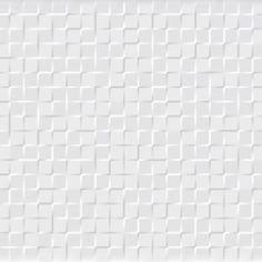 carrelage mural géométrique à relief cuivre - blanc - metal ...