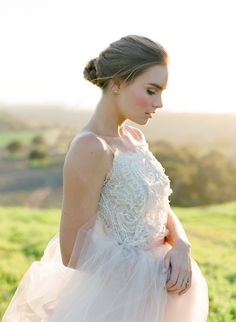 Dress: Samuelle | Jose Villa Photography