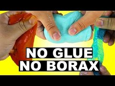 How To Make Slime Without Glue! 3 Ways! Tested! How To Make Slime Without Borax!!!