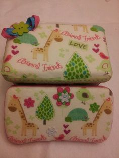 Girl wipey case set