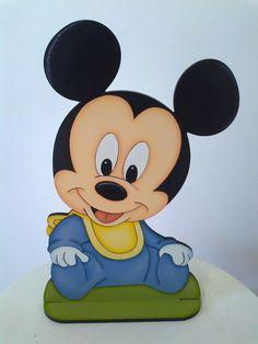 - Decoraçao festa Mickey Baby  - Feito em mdf 6mm  - Tamanho pode ser alterado