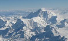 This photo of Mt. Everest was taken from the window of our airplane, returning from Bhutan to India. Breathtaking!
