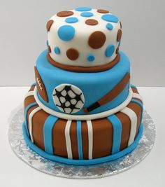 Sports Cake for a boy