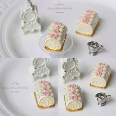 2017 Miniature Roll Cake ♡ ♡ By Cheily
