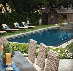Simple  Bilder von Pool im Garten integriert schwimmbecken wald b ume Architektur u moderne H user und Geb ude Pinterest Gardens
