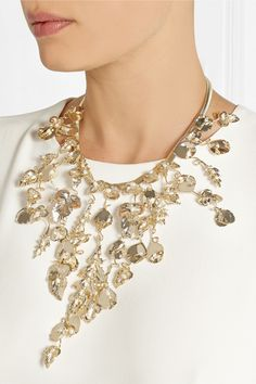 Rosantica | Maria gold-dipped freshwater pearl necklace | NET-A-PORTER.COM