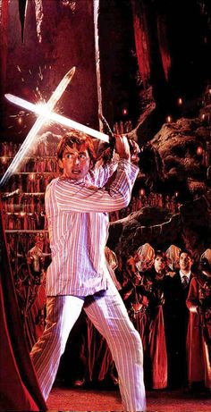 Ten. Because how many men can duel in their PJ's and still look cool?