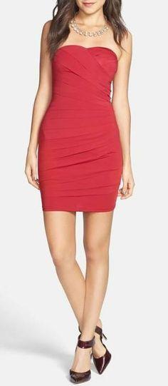 Love! Red Bandage Dress