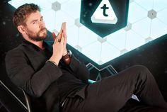 Chris Hemsworth #Thor #ThorRagnarok #Movies #Marvel #Comics