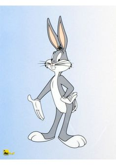 LOONEY TUNES ''Bugs Bunny'' Sericel