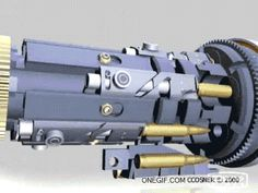 How a Gatling Gun works