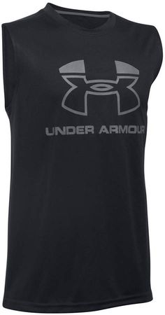 28e7456a Under Armour Big Boys Logo-Print Muscle Tank Top & Reviews - Shirts & Tees  - Kids - Macy's