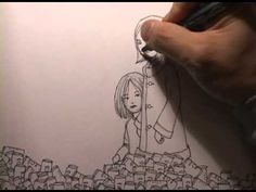 This is seriously the most amazing drawing I've ever seen…Watch and believe it for yourself. #amazing #art