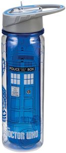 Doctor Who Tardis Water Bottle