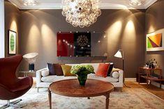 гостиная белые стены диван - Поиск в Google