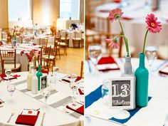 Image result for teal and red wedding