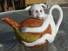 Italian monkey teapot
