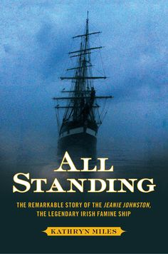 """Kathryn Miles' dramatic true tale of a boy born at sea during the Irish Potato famine and the """"coffin ship"""" that saved him and thousands of others."""